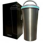 Stainless Steel Leakproof Travel Coffee Mug - 500ML