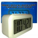 Smart Optical Back-Light Control LCD Clock