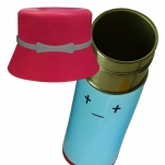Thermos with a hat - Stainless steel water bottle - School