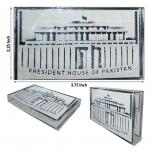 Acrylic Engravings - President House of Pakistan