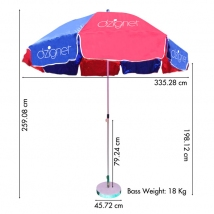 Promotional & Customised Patio Umbrellas