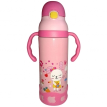 Stainless Steel Double Wall Insulated Kid's Water Bottle