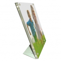 L-shape Magnet Desk Sign Holder / Photo Frame