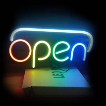 LED Neon Sign – Open